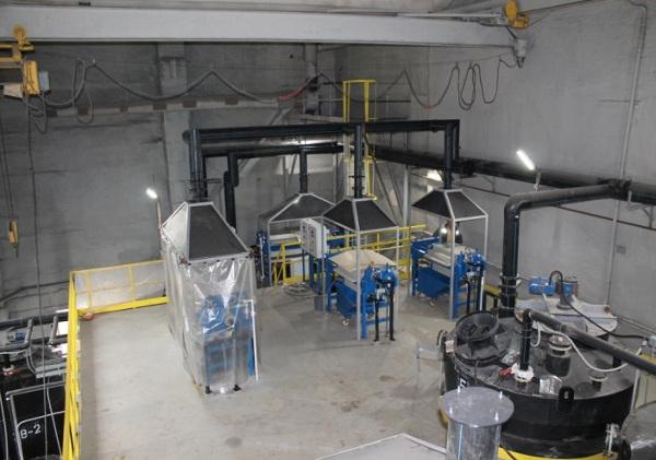 Установка по производству скандия