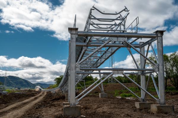 Восточная горнорудная компания строит подстанции для электроснабжения магистрального угольного конвейера