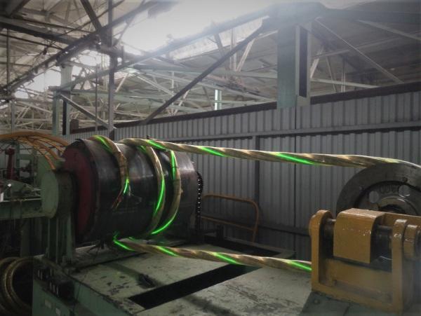 Сибкабель разработал для горняков кабель с эффектом свечения